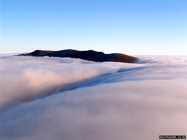 An photo of an inversion in the Lake District